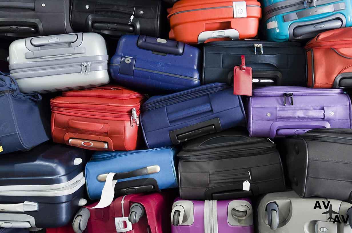 Багаж в самолете: размеры и вес