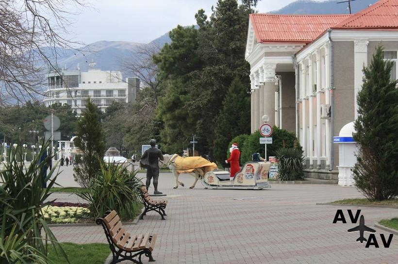 Из Казани в Геленджик зимой 2020